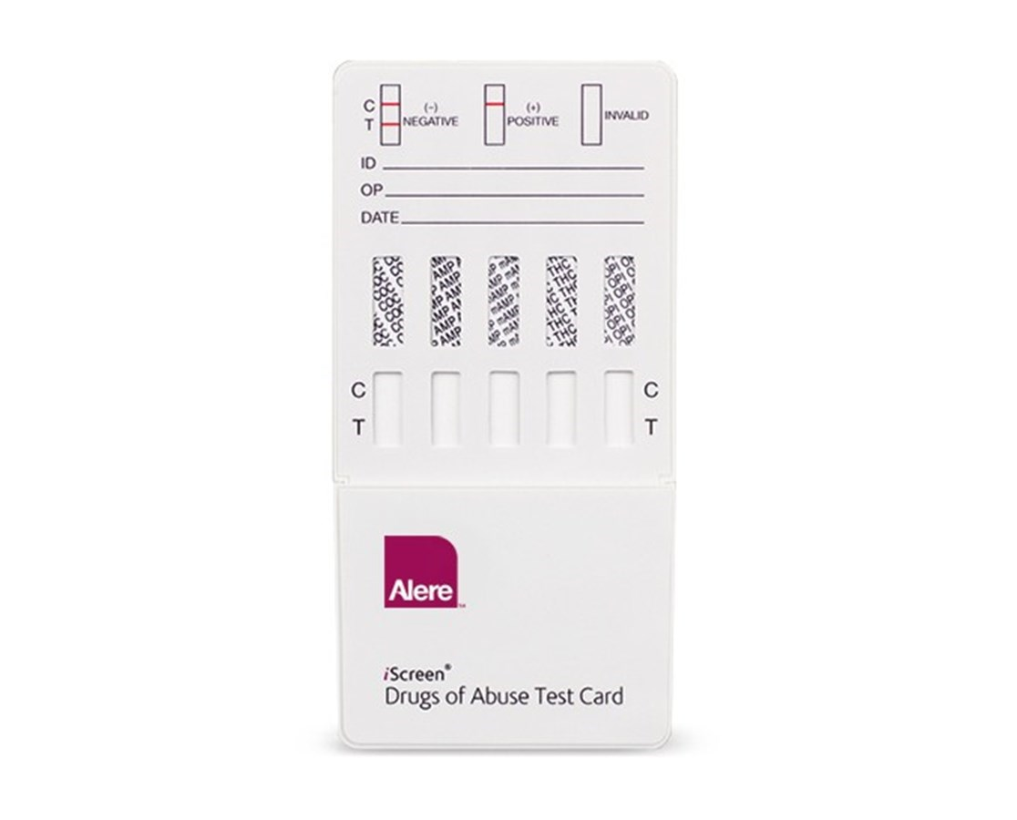 Iscreen® Dip Card - 3 Drug Tests ALEIS3 MCT DIP-