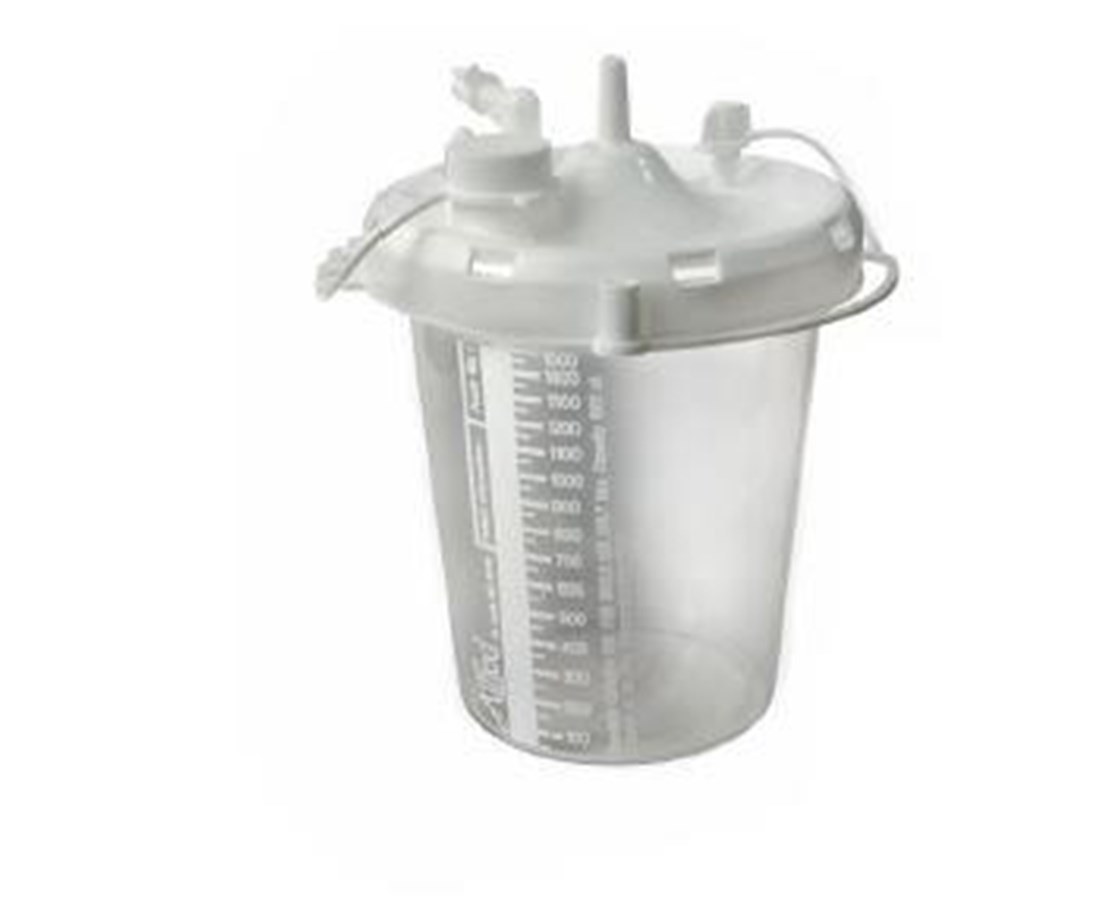 2400 mL Disposable Collection Canister, 36 Per Case ALL20-08-0001
