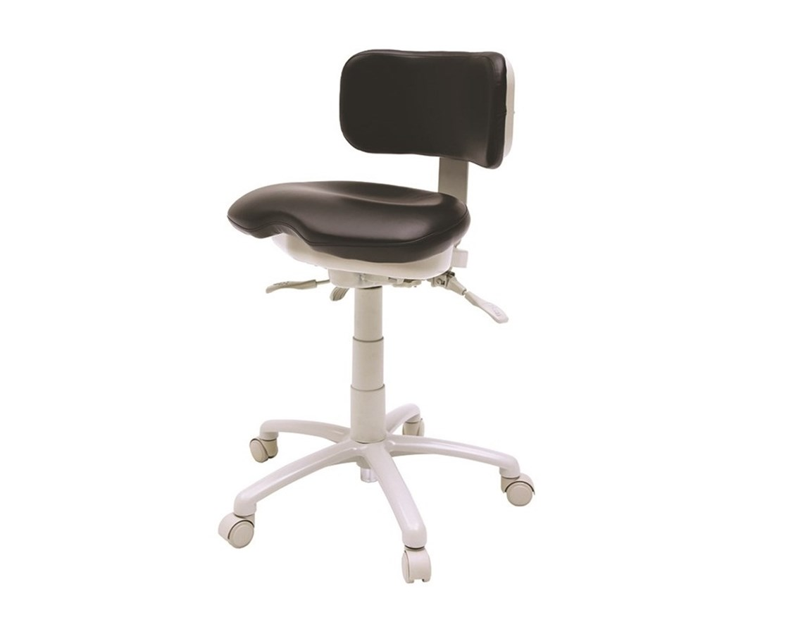 9500 Series Premium Ergonomic Dental Stool BRE9500B