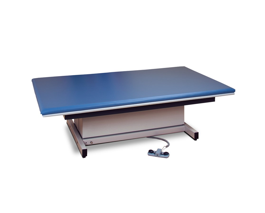 Clinton Hi-Lo Power Mat Therapy Table with Upholstered Top