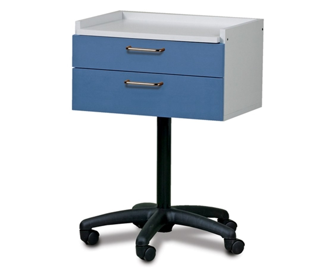 Laminate Top Mobile Equipment Cabinet with 2 Drawers CLI8920-