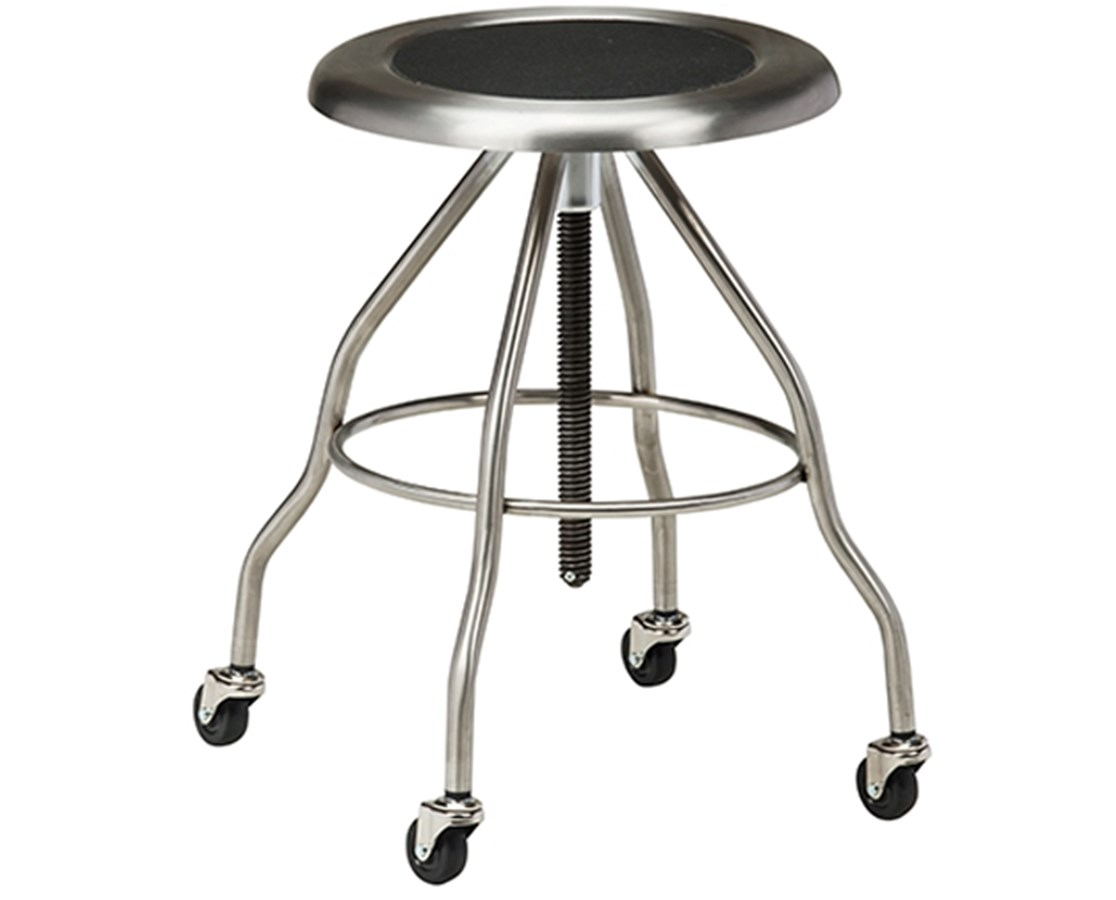 Stainless Steel Stool with Casters CLISS-2162