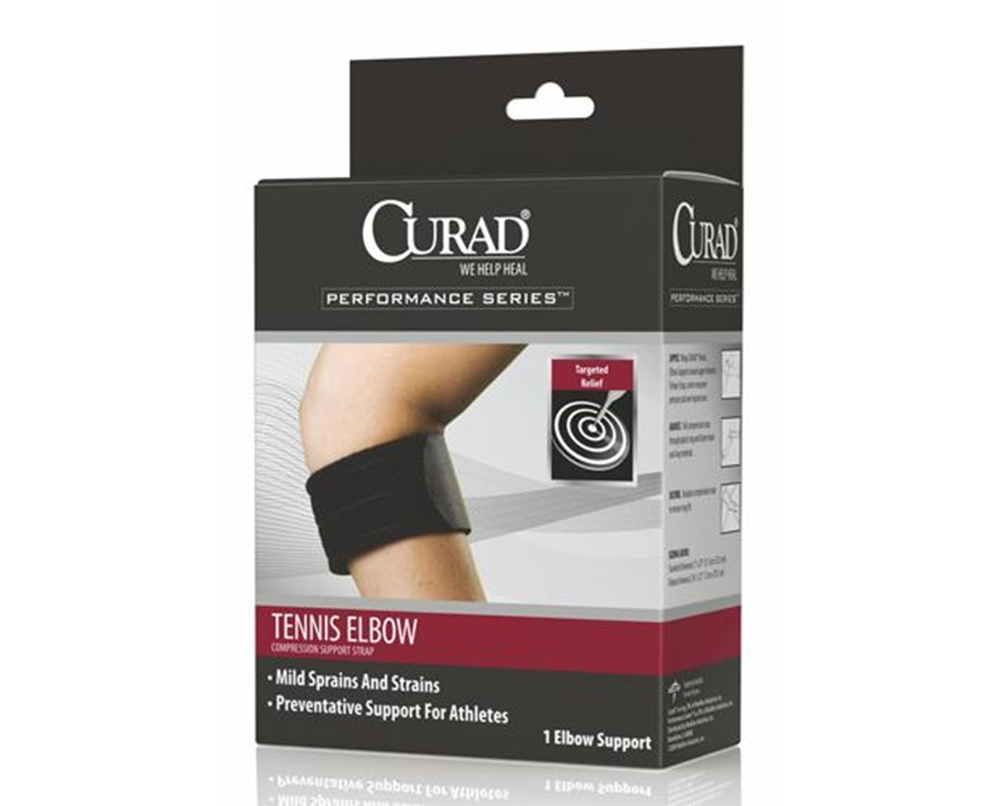 Standard Tennis Elbow Compression Support Straps CURORT17100DH