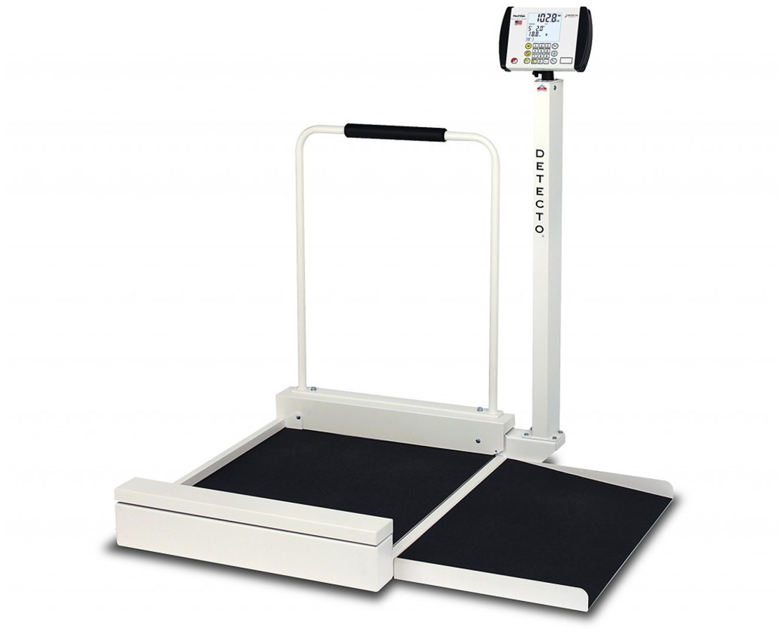 Digital Stationary Wheelchair Scale DET6495