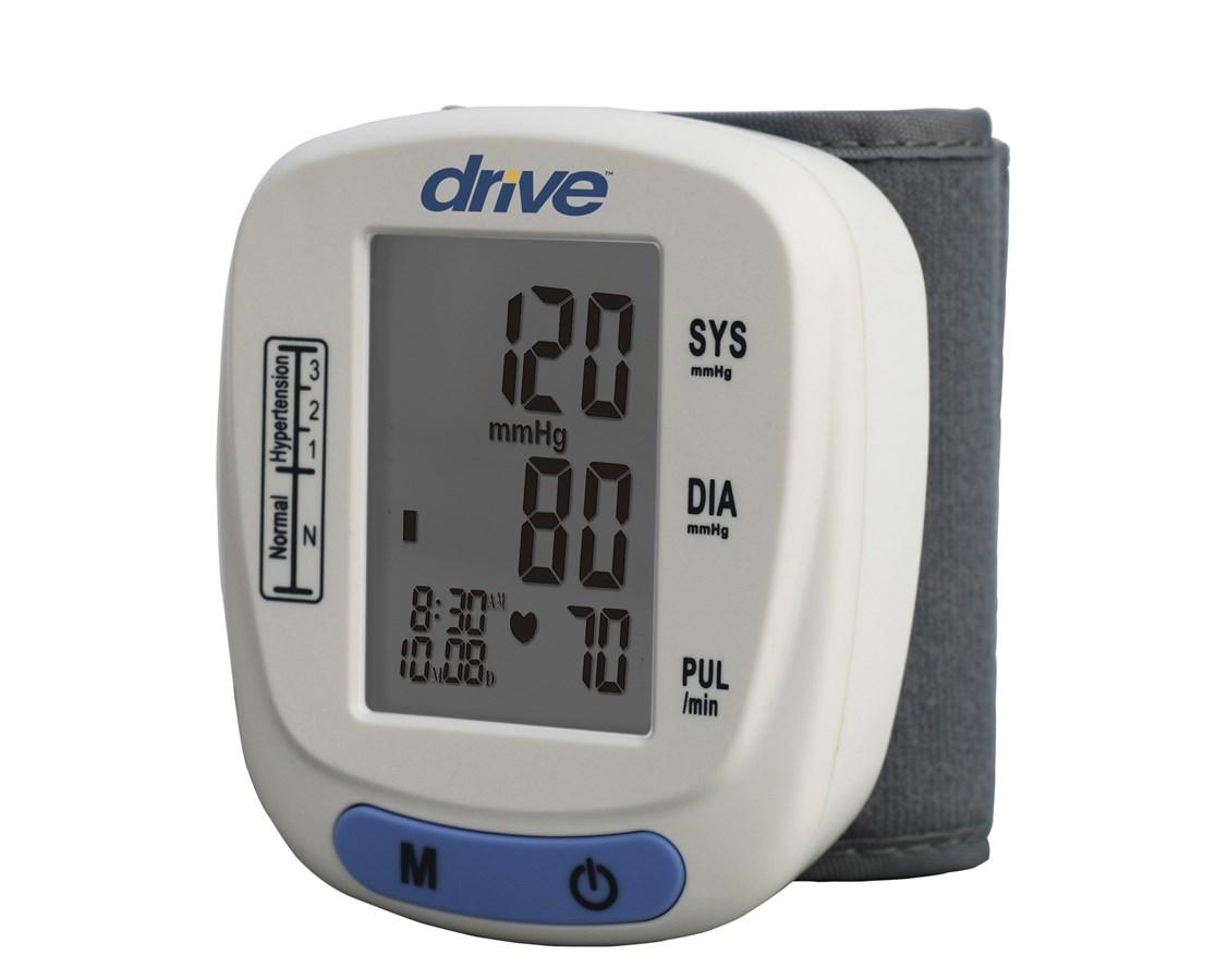 Automatic Blood Pressure Monitor, Wrist Model DRIBP2200