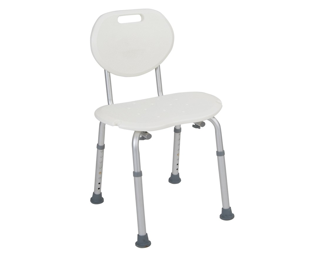 Shower Chair with Oval Back DRIRTL12605