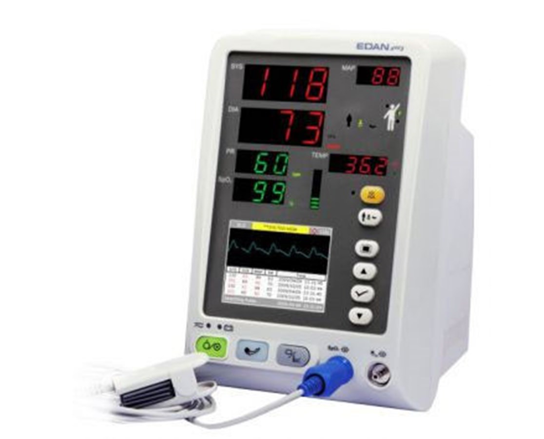 M3A Vital Signs Monitor with NIBP & SpO2 EDAM3A_NS
