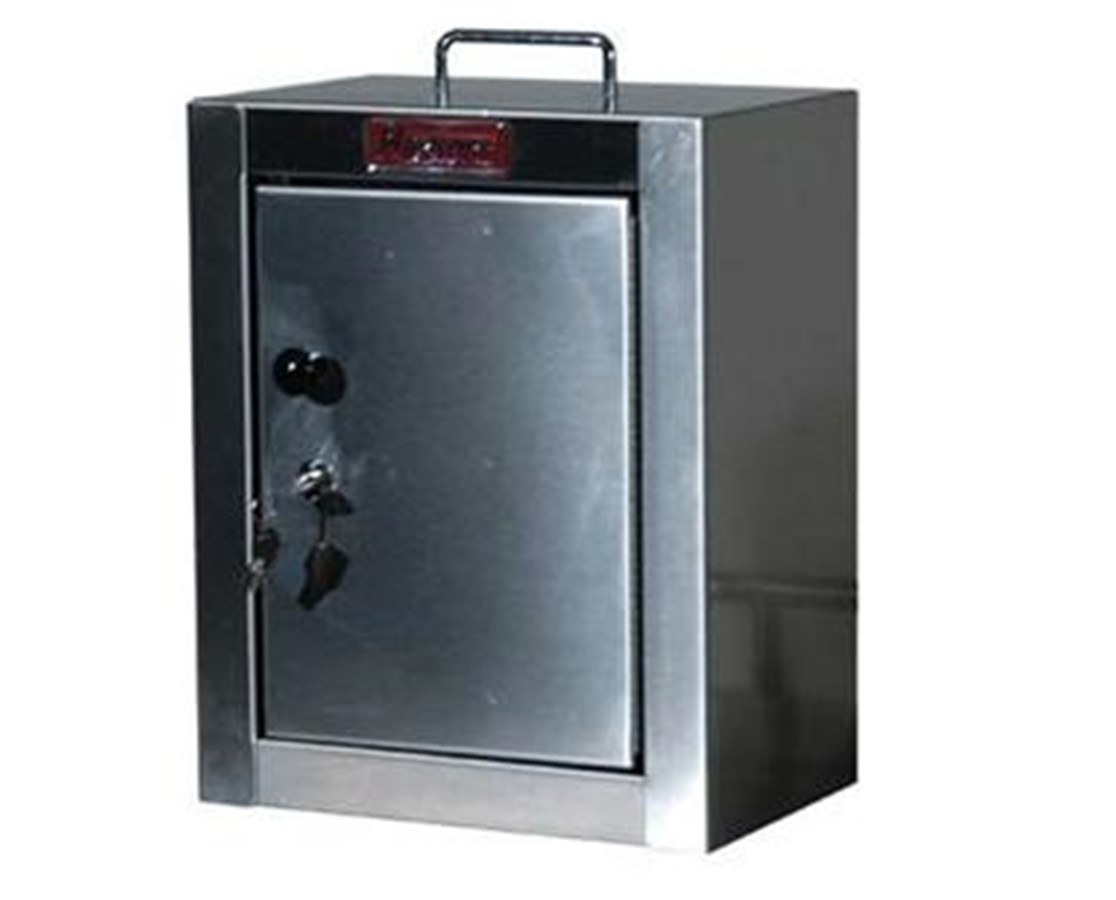 12'' Stainless Steel Double Door Narcotics Cabinet HAR2722