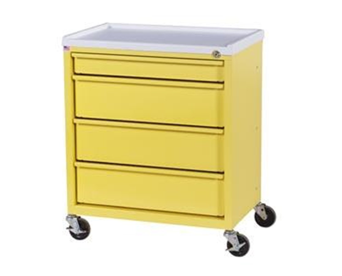 ETC Line Four Drawer Treatment Cart HARETC-4-
