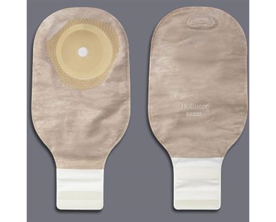 One Piece Pouch- Premier Drainable Pouch with Filter, Beige HOL88300