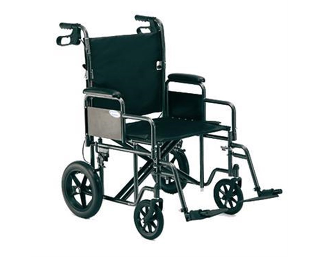 Invacare TRHD22FR Heavy-Duty Bariatric Transport Chair
