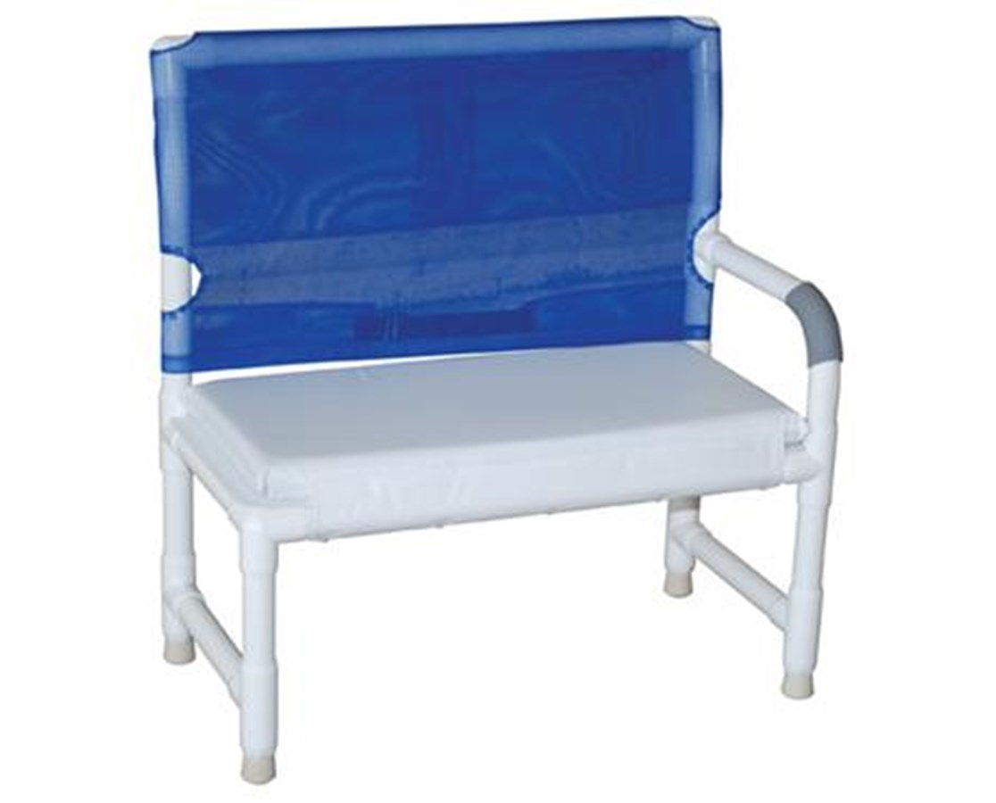 MJM160 High Back Shower Bench