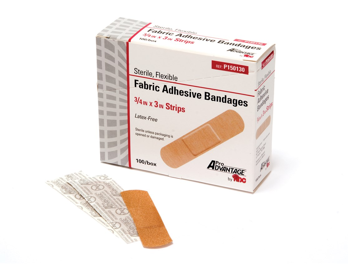 Fabric Adhesive Bandages, Strips NDCP0150120-