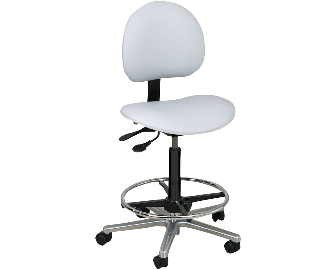 Lab Stool with Contour Seat and Backrest NDCP272166