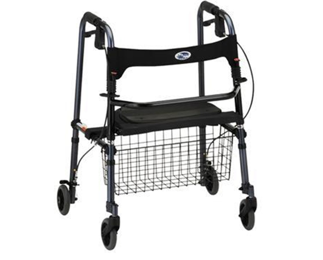 Nova 4010BL Cruiser De-Light Folding Walker