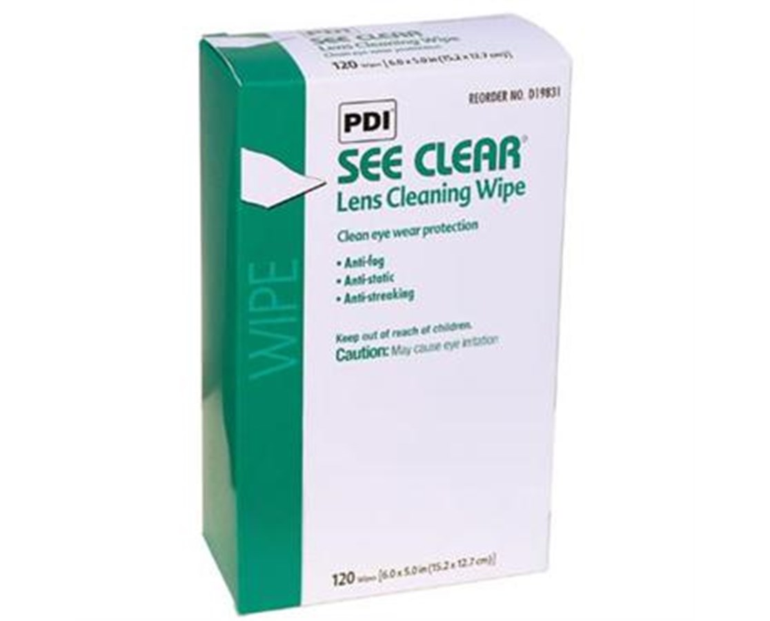 See Clear Eye Glass Cleaning Wipes PDID19831