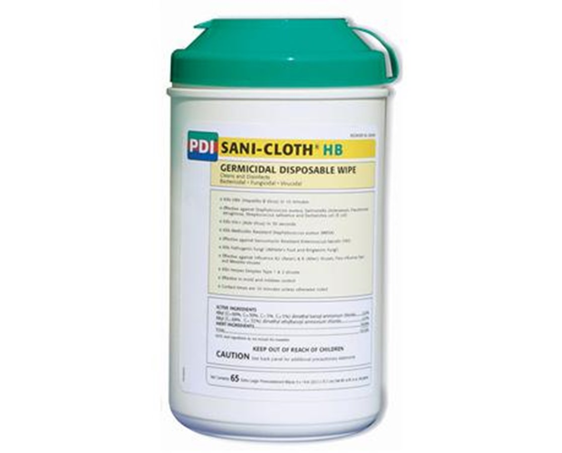 Sani-Cloth HB Alcohol free