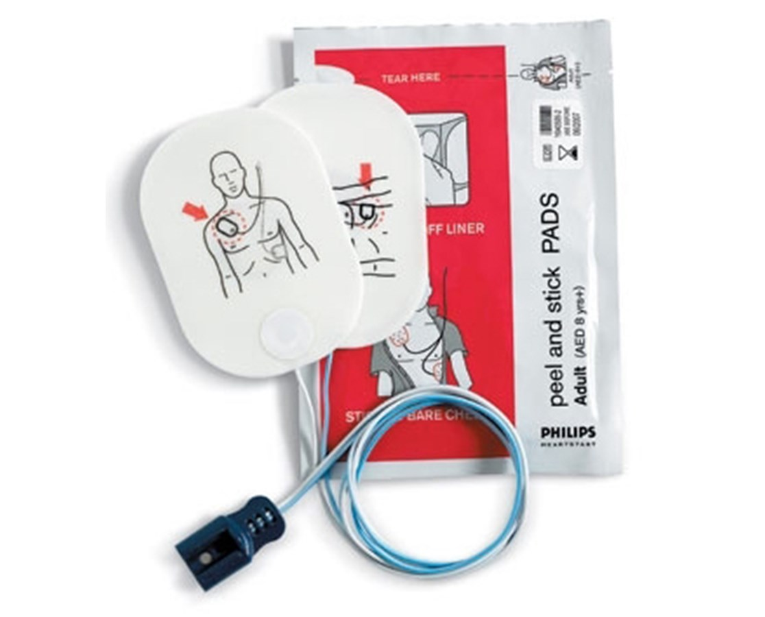 Adult Defibrillator Pads for HeartStart FR2-Series AEDs PHI989803158211-