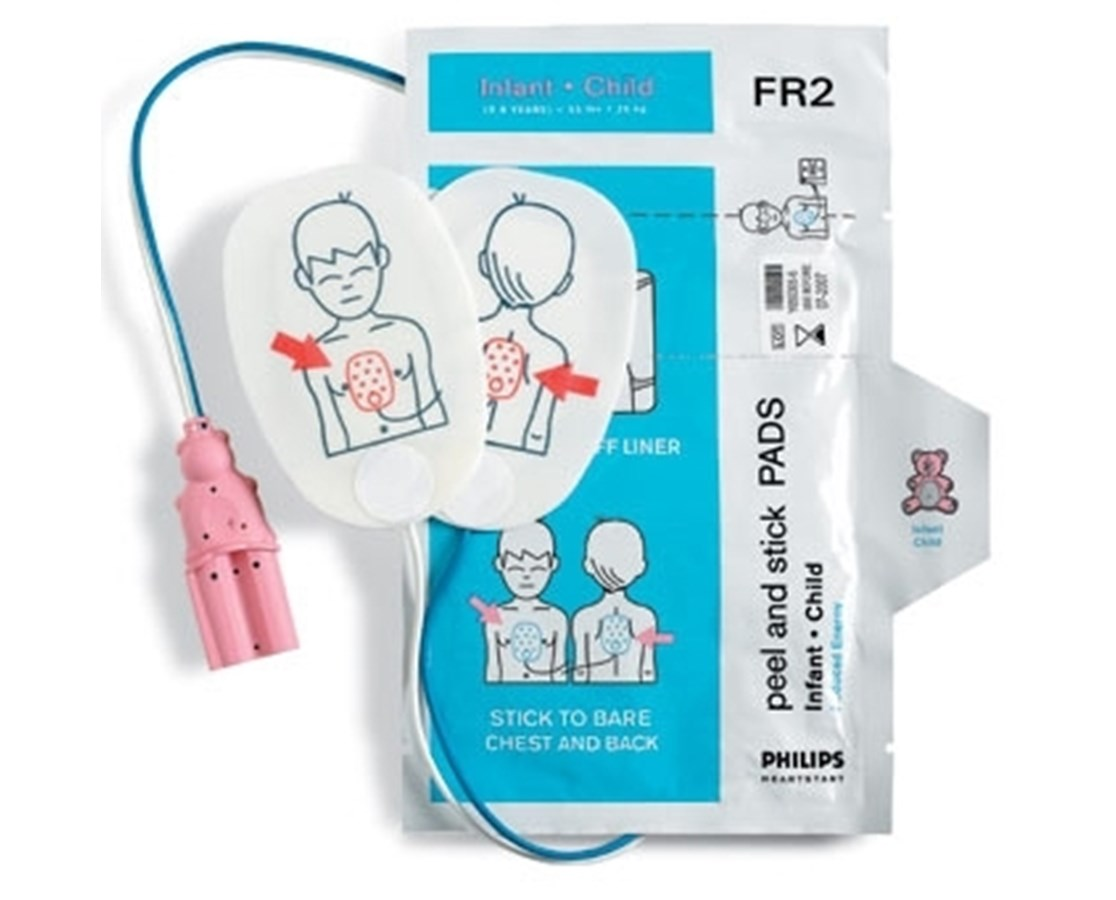 Infant/Child Defibrillator Pads for FR2/FR2+ AEDs PHIM3870A