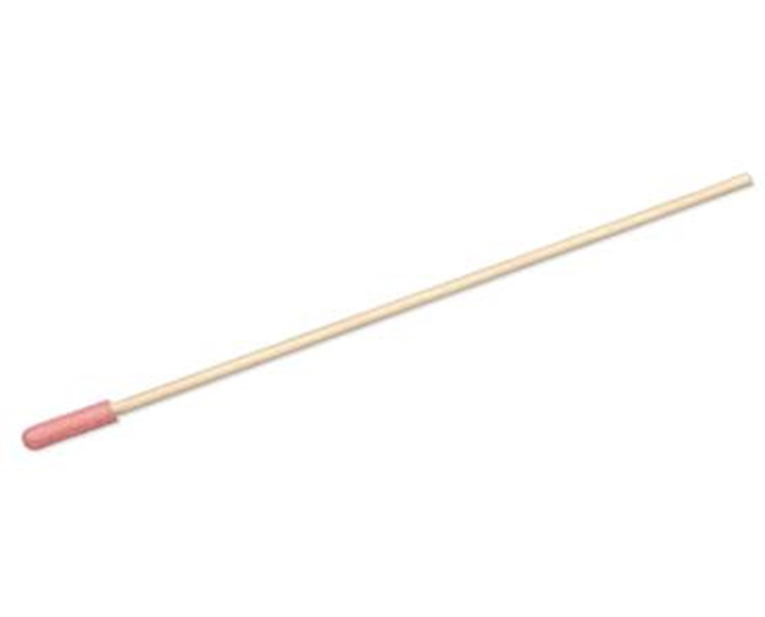PurSwab Anti-Static Foam Tipped Swab with Wood Handle, Foam Tip PUR1806-WF AS-