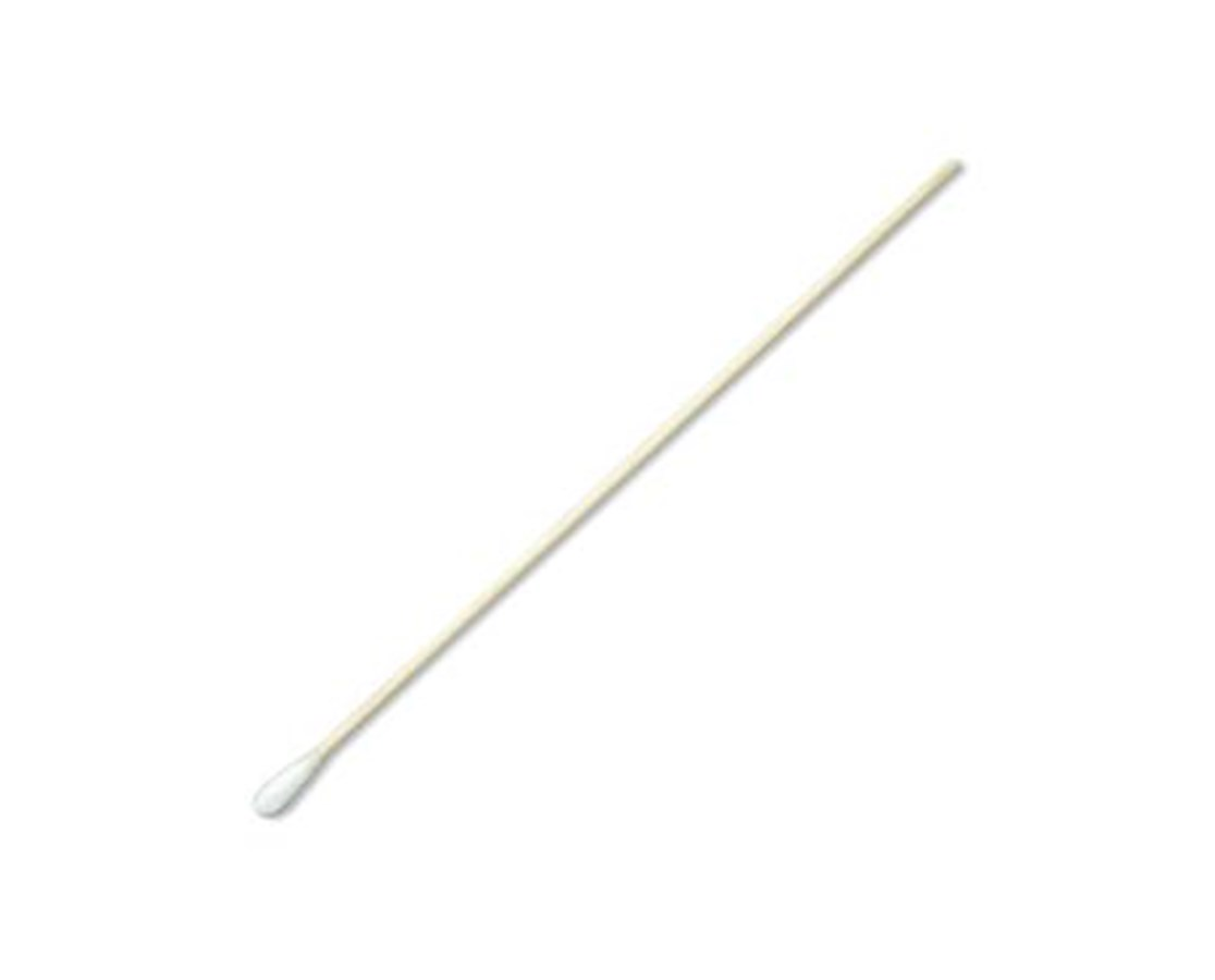 "6"" Sterile Economy Cotton-Tipped Applicators with Wood Handle PUR25-806 1WC HOSPITAL-"