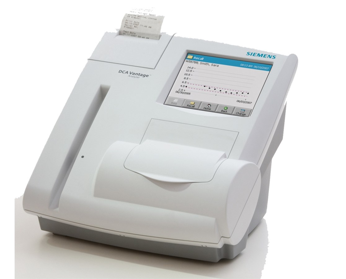 DCA Vantage Diabetic Analyzer SIE5075US-