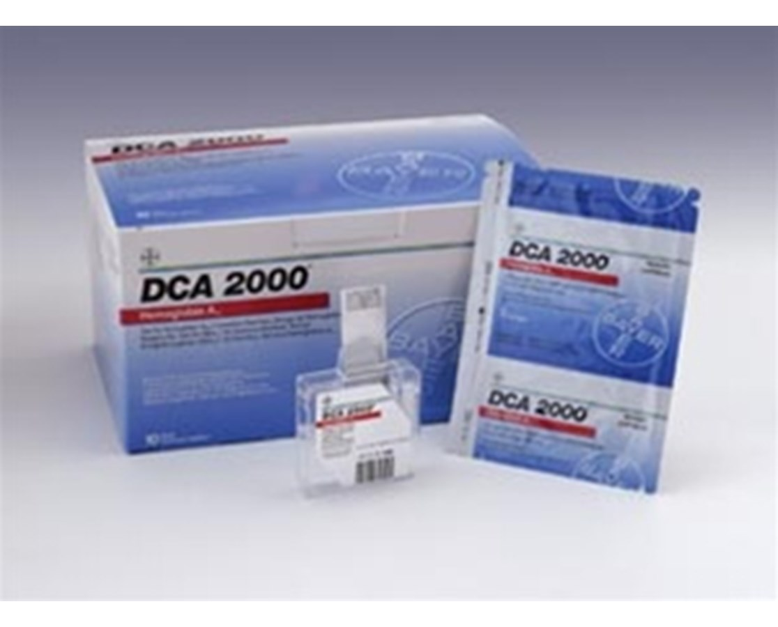 Microalbumin/Creatinine Kits for DCA 2000 Analyzer, 10/kit SIE6011A