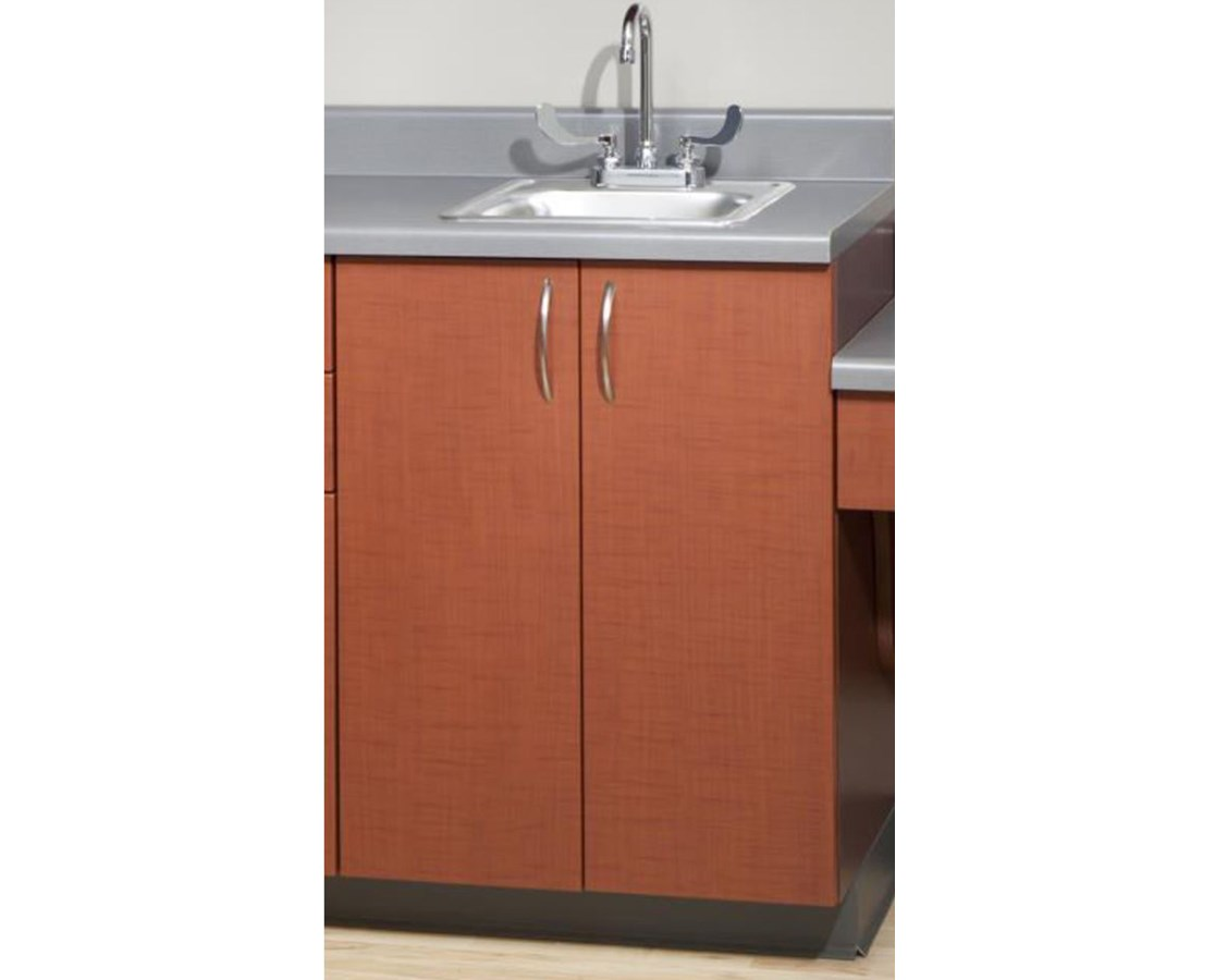 "Base Wood Cabinet with 2 Doors - 24"" Wide UMF6024WAN-"