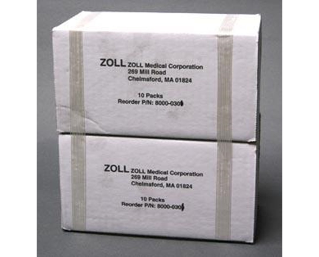 80mm Fanfold Paper for M Series Defibrillator, Case/10 ZOL8000-0302