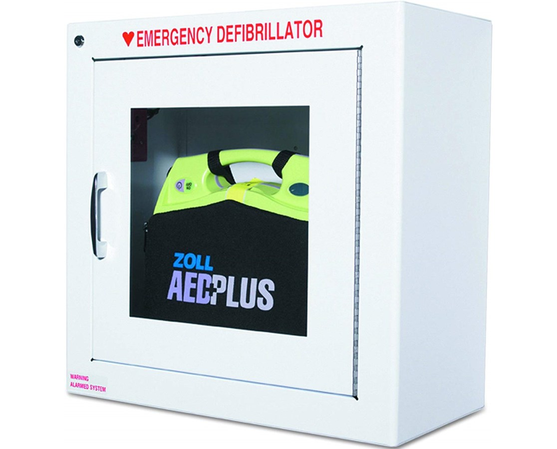 Zoll Aed Plus Standard Wall Cabinet With Save At Tiger
