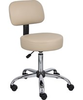 Medical Stool with Back Cushion BOSB245-