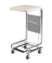 Hamper Stand with Poly Coated Steel Lid DRI13070
