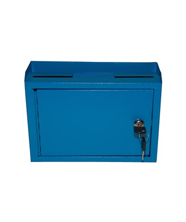 Deluxe Steel Drop Box - Blue ADI631-02-BLU