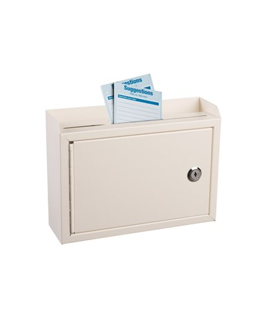 Deluxe Steel Drop Box - White ADI631-02-