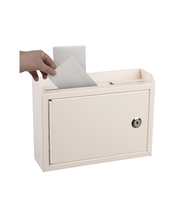 Deluxe Steel Drop Box White ADI631-02-WHI