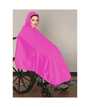 Wheel Chair Rain Poncho 960-01-PNK