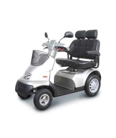 Afiscooter S4 Full Size Four Wheel Scooter Wide Seat AFIFTS4115
