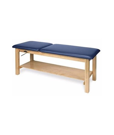 Wood Treatment Table with Adjustable Backrest & Storage Options ARMAM616-