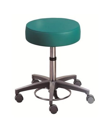 """Brewer 21340 Foot Operated Surgeon's Stool without Back Rest"""