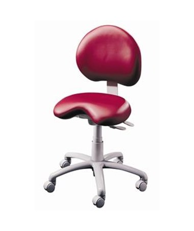 Brewer 9000 Series Dental Stool with Seamless Upholstery