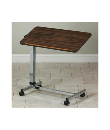 Tilt-Top H Base Over Bed Table CLITS-180