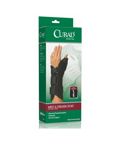 Curad Wrist and Forearm Splint with Abducted Thumb