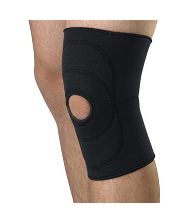 Curad Open Patella Knee Support Equipped
