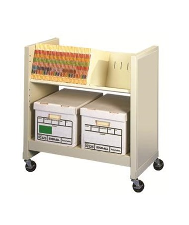 Datum FileCart™ Letter/Legal with Utility Shelf and End Panels