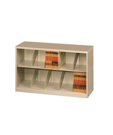 Datum ThinStak™ Letter-Size Open Shelf Filing System - 2 Tiers