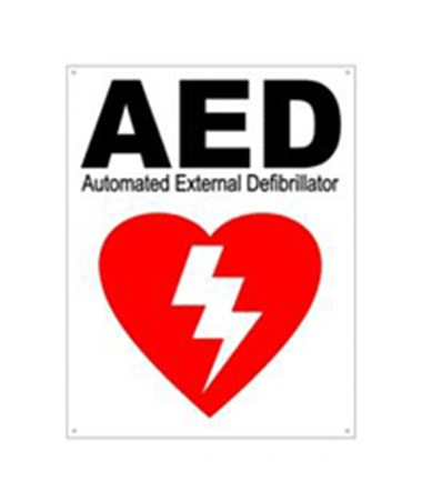 DEFDAC-230- AED Wall Signs - Flat Wall Sign