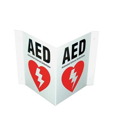 AED Wall Signs DEFDAC-230-