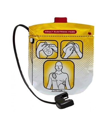 DEFDDP-2002- Pediatric Defibrillation Pads Package for Lifeline VIEW & ECG - Adult