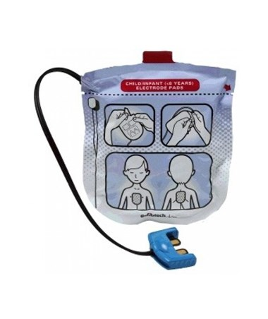 Pediatric Defibrillation Pads Package for Lifeline VIEW & ECG DEFDDP-2002-
