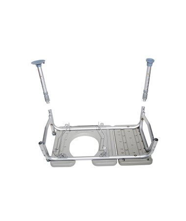 Drive 12011KDC-1 Transfer Bench with Commode Opening""